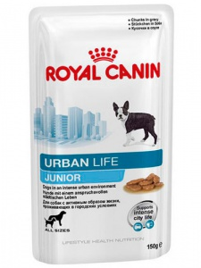Влажный корм Royal Canin Urban Life Junior 150гр