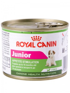 Консервы Royal Canin Junior mousse 195 гр