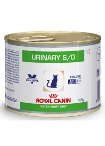 Консервы Royal Canin Urinary S/O 195гр