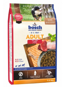 Корм Bosch Adult Lamb & Rice для собак 15 кг