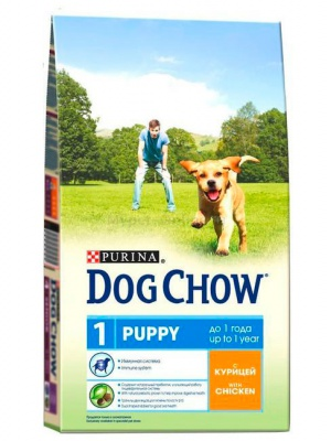 Корм Dog Chow Puppy Junior With Chicken 14кг