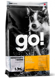 Корм GO Sensitivity + Shine Duck Dog Recipe 11,3кг