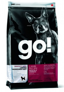 Корм GO Sensitivity + Shine LID Lamb Dog Recipe, Grain Free, Potato Free 11,3кг