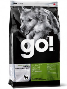 Корм GO Sensitivity + Shine LID Turkey Dog Recipe 11,3кг