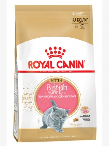 Корм Royal Canin British Shorthair Kitten, 10кг