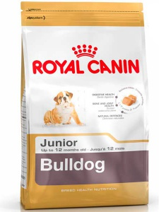 Корм Royal Canin Bulldog Junior, 3кг