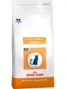 Корм Royal Canin Senior Consult Stage 1, 1,5кг