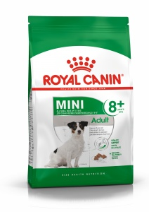 Корм Royal Canin Mini Adult 8+, 4кг