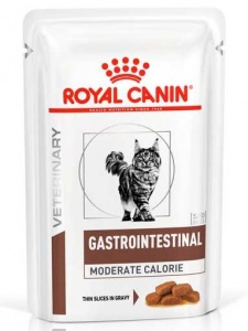 Влажный корм Royal Canin Gastro Intestinal Moderate Calorie 100гр