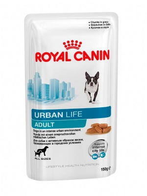 Влажный корм Royal Canin Urban Life Adult Wet 150гр